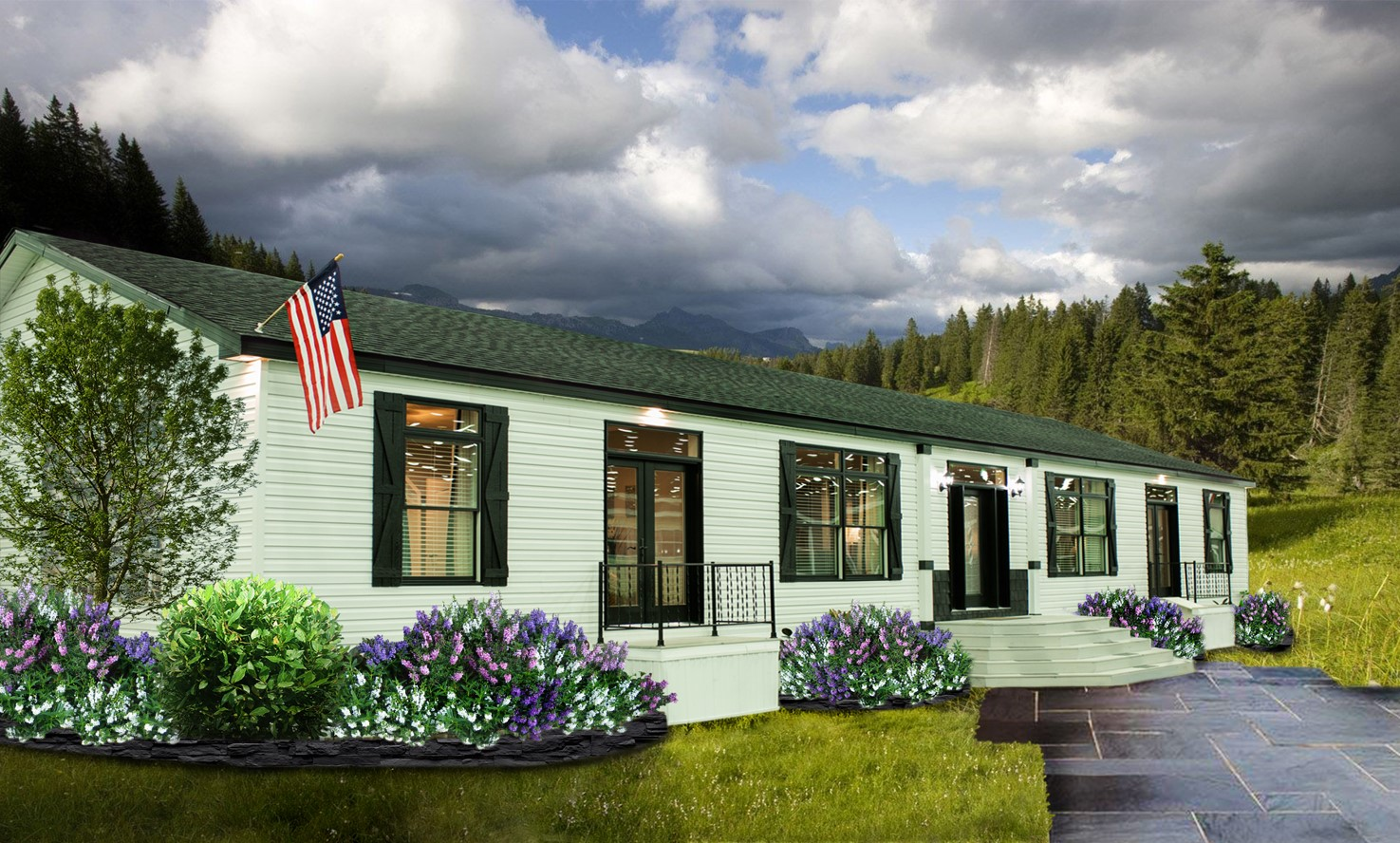 New Single Section Manufactured Home Design The Hudson